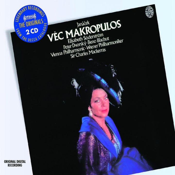Die Sache Makropulos (GA)/Lachische Tänze: Söderström/Czakova/Krejcik/WP/Mackerras/+