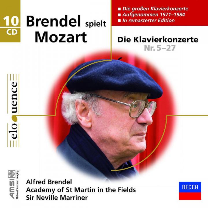 Klavierkonzerte 5-27: Brendel,Alfred/AMF/Marriner