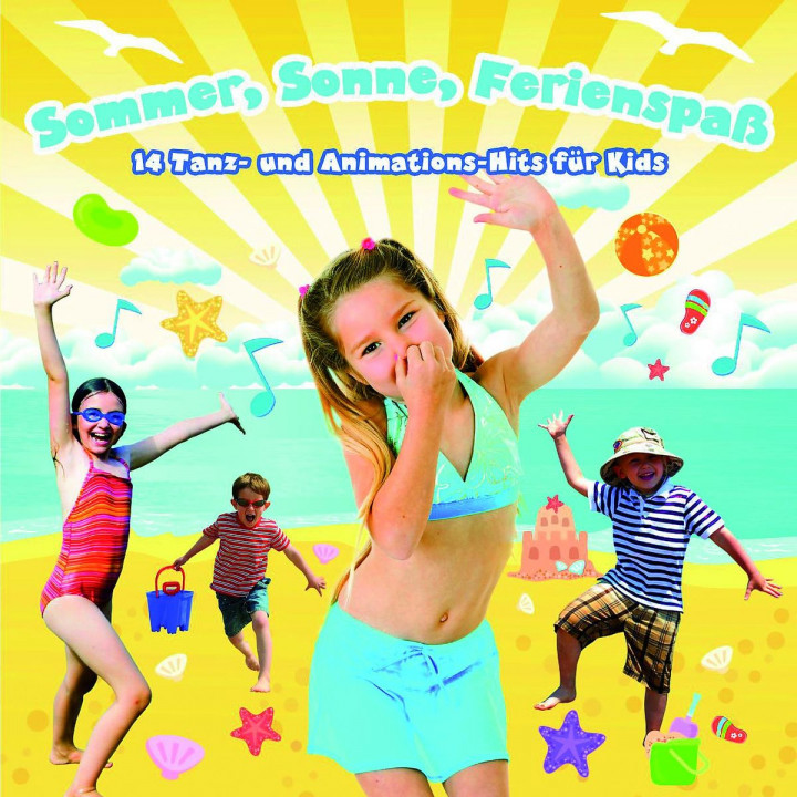 Kidz & Friendz: Sommer, Sonne, Ferienspaß - Animationshits für Kids