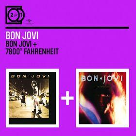 Bon Jovi, 2 For 1: Bon Jovi / 7800 Fahrenheit, 00600753186138