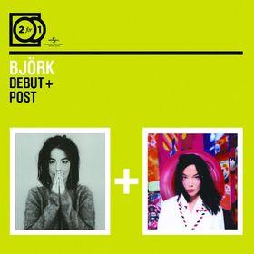 Björk, 2 For 1: Debut / Post, 00600753190678