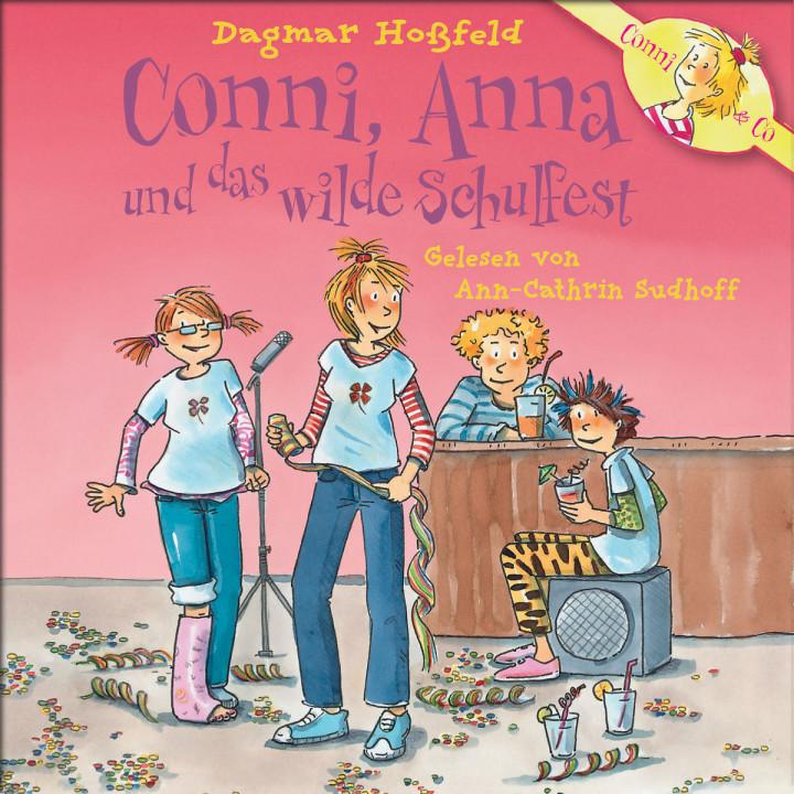 Dagmar Hoßfeld:Conni, Anna und das wilde Schulfest: Conni