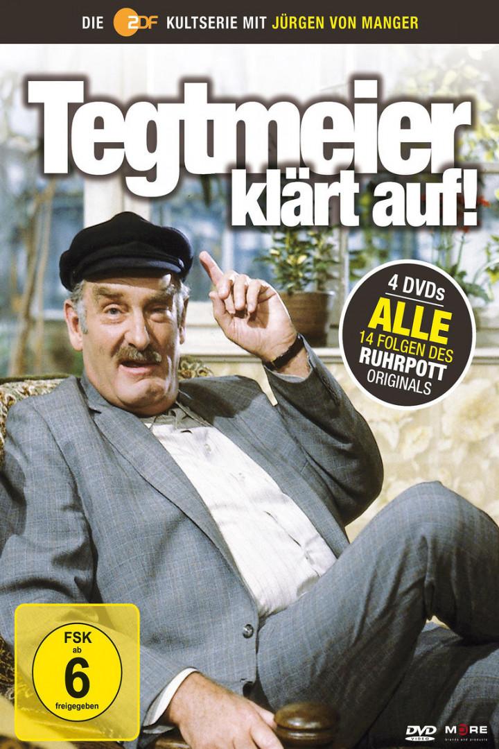 Tegtmeier klärt auf! Collector's Box (4 DVD): Manger, Jürgen von