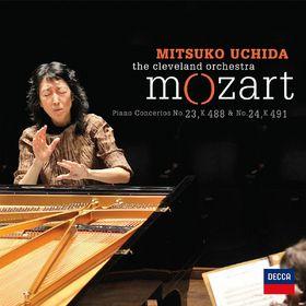 Mitsuko Uchida, Mozart - Piano Concertos No. 23 & 24, 00028947815242