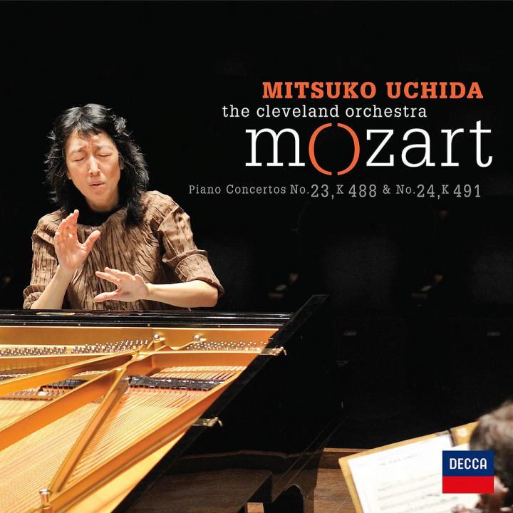 Mozart - Piano Concertos No.23 & No.24: Uchida,Mitsuko/The Cleveland Orchestra