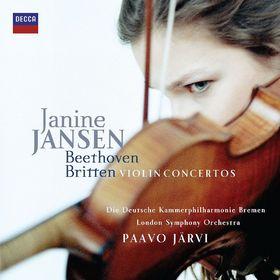 Janine Jansen, Beethoven & Britten Violin Concertos, 00028947815303
