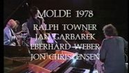 Jan Garbarek, Jan Garbarek, Ralph Towner, Eberhard Weber und Jon Christensen beim Festival in Molde 1978