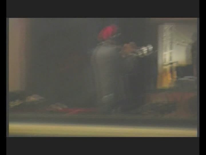 """Manfred Eicher bei den Aufnahmen zu """"Lontano"""" mit dem Tomasz Stanko Quartet im Studio La Buissone/Südfrankreich - November 2005"""