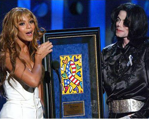 Michael Jackson, Michael Jackson stand auf Beyonce?