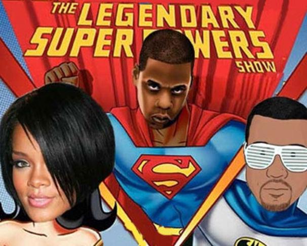 Rihanna, Jay-Z, Rihanna, Kayne West gründen Supergroup?!