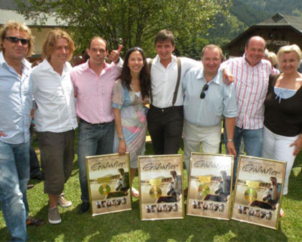 Andreas Gabalier, Gold für sein Debut-Album