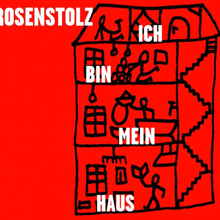 Rosenstolz Ich bin Mein Haus Cover 2009