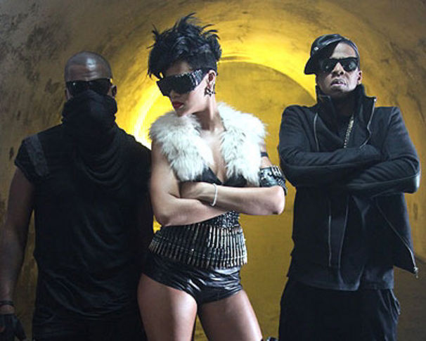 Rihanna, Erste Fotos vom Run This Town Videodreh!!!