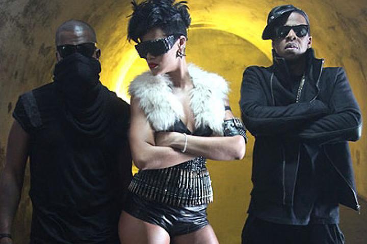 Jay-Z, Kanye & Rihanna