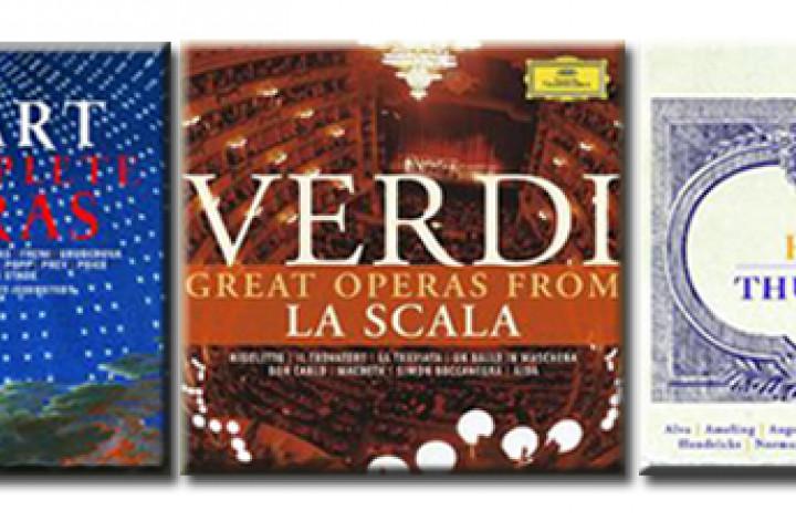 Opernboxen Mozart / Verdi / Haydn