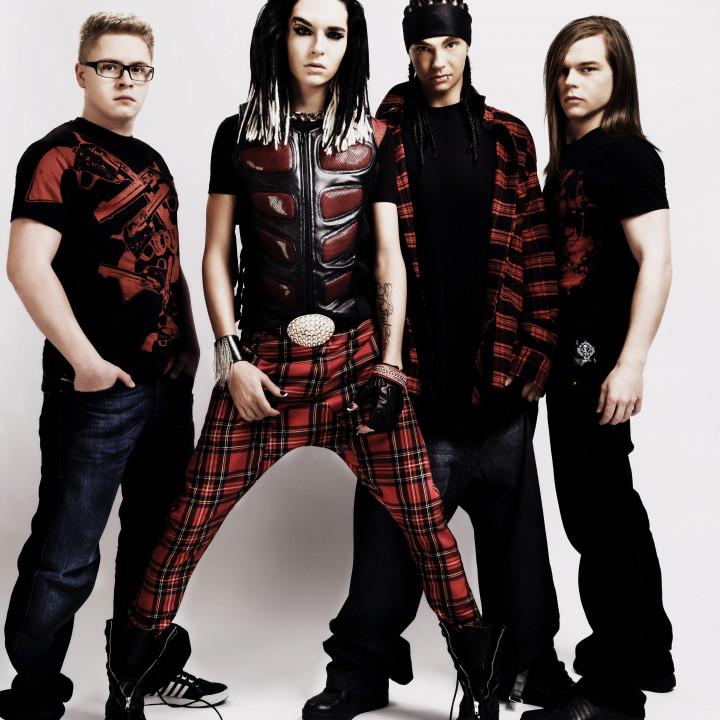 Tokio Hotel band Bild 02 2009