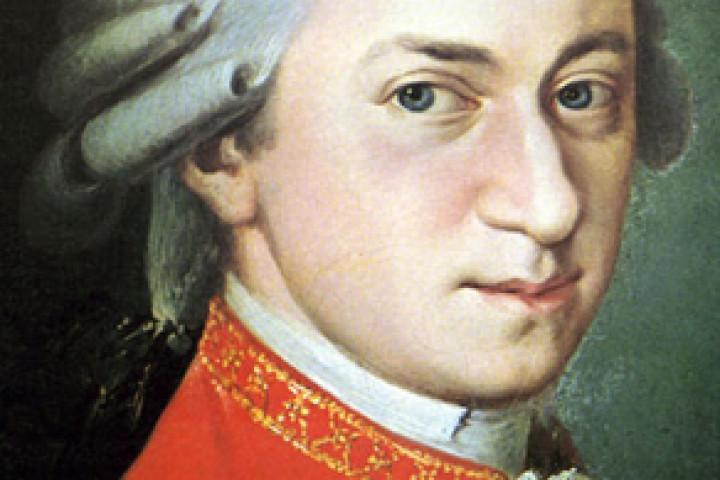 Wolfgang Amadeus Mozart Porträt