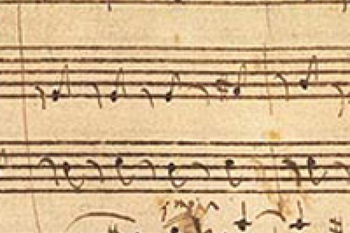 Mozart Notenschrift
