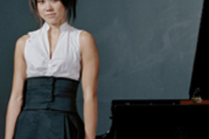 Yuja Wang am Klavier