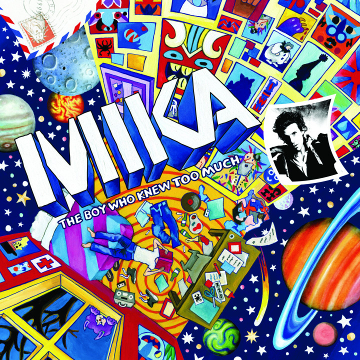 Mika The Boy Who Knew Too Much Cover