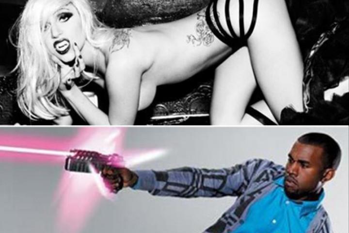 Lady Gaga + Kanye West
