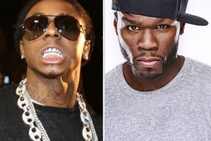 50 Cent und Lil Wayne auf der gleichen Bühne!