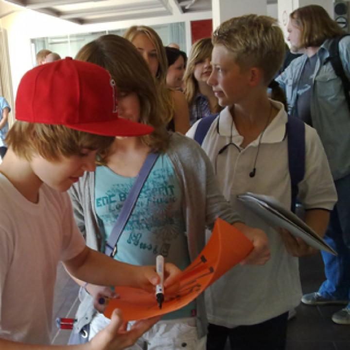 Justin Bieber live in Berlin