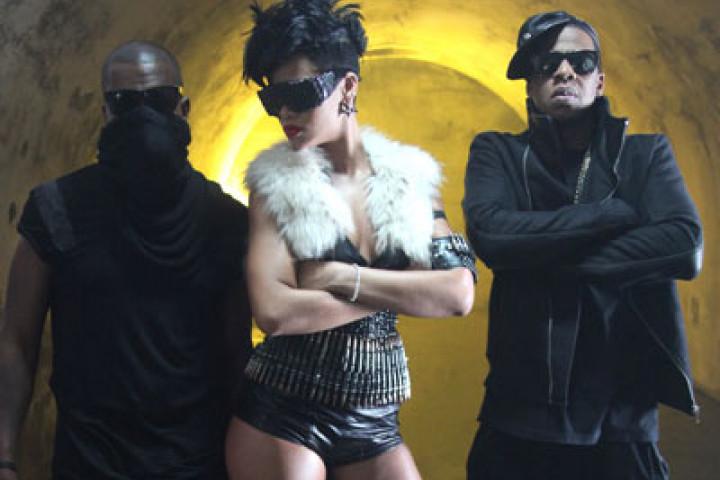 Jay-Z, Rihanna & Kanye