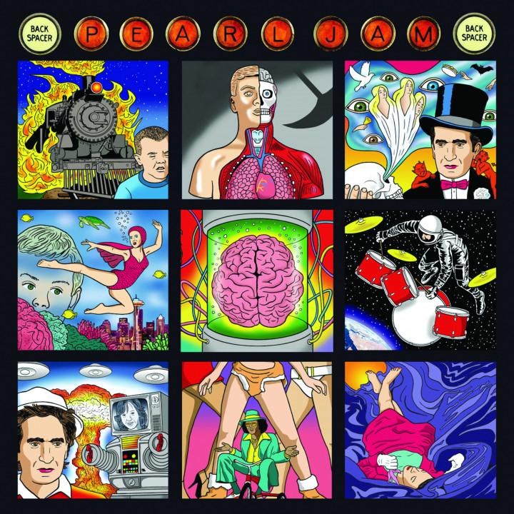 Pearl Jam Backspacer Cover 2009