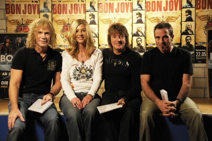 Fanbuchübergabe Bon Jovi