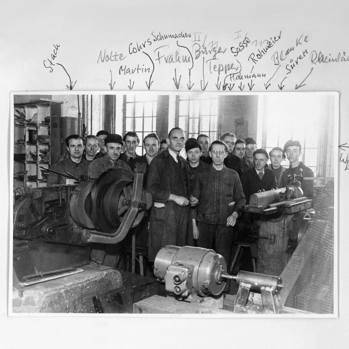 Mitarbeite, Werk Hannover 1950 ©DG Photo Archiv