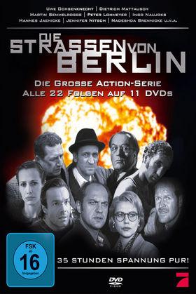 Die Straßen von Berlin, Die Straßen von Berlin - die komplette Serie, 00602517982147