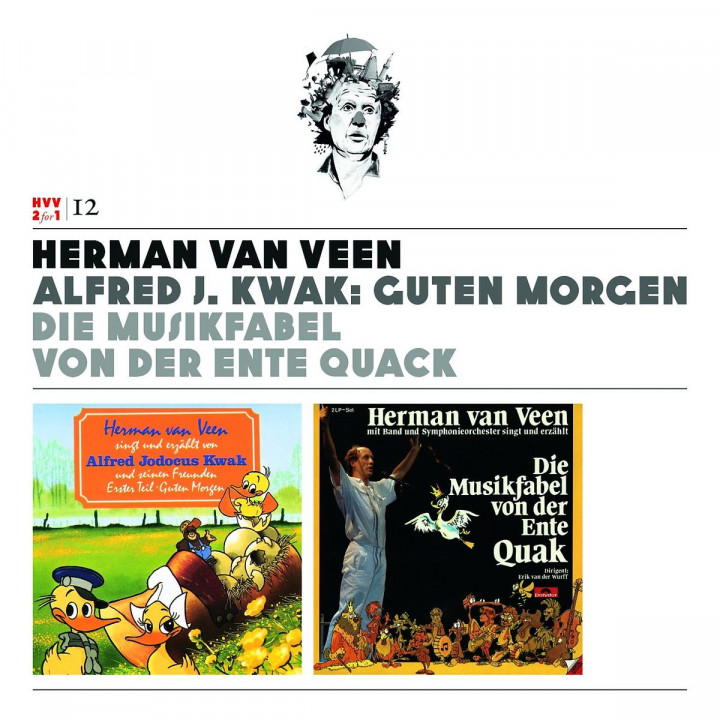Vol.12: Alfred J. Kwack: Guten Morgen/Musikfabel: Veen,Herman van