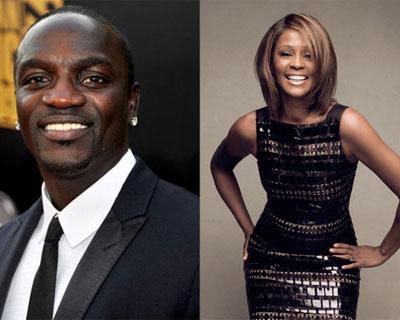 Akon, Akon setzt auf Whitney Houston