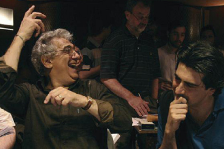 Alberto Veronesi und Plácido Domingo. Rome, Santa Cecilia © Riccardo Musacchio / DG