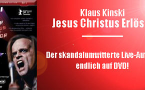 Klaus Kinski, Klaus Kinskis - Jesus Christus Erlöser:  Ich bin nicht Euer Superstar!