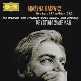 Krystian Zimerman, Bacewicz: Klaviersonate Nr.2, Quintette Nr.1 & 2, 00028947783329