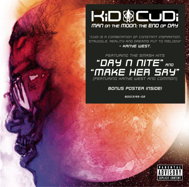 Kid Cudi Man On The Moon: The End of Day Cover