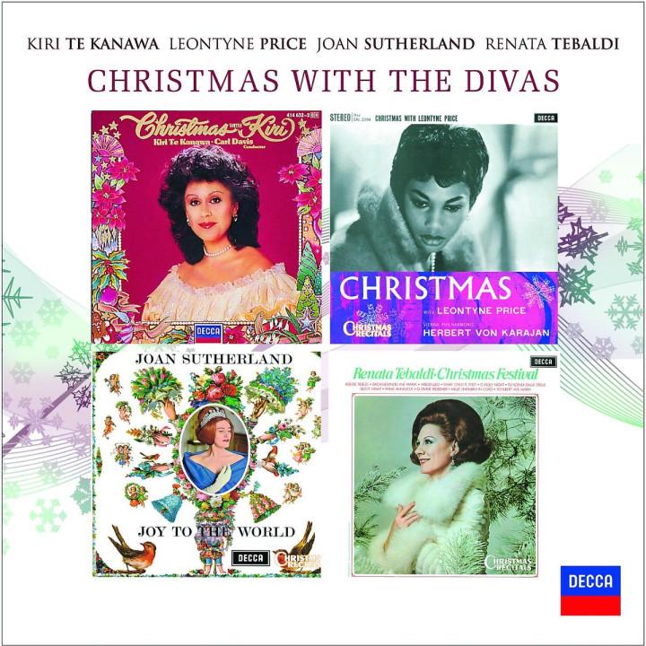 Christmas with the divas: Sutherland/Price/Tebaldi/Kanawa