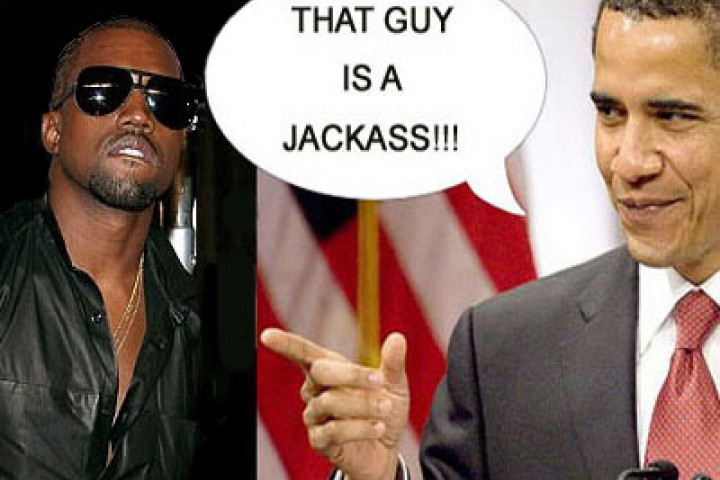 Barack Obama vs Kanye West