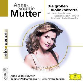 Anne-Sophie Mutter, Anne-Sophie Mutter - Die großen Violinkonzerte, 00028948028665