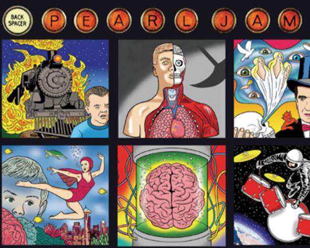 Pearl Jam, Back Spacer zum besten Vertigo-Album des Jahres wählen