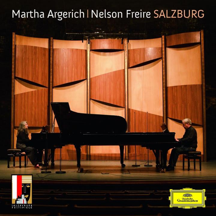 Salzburg: Brahms/Rachmaninov/Schubert/Ravel: Argerich,Martha/Freire,Nelson