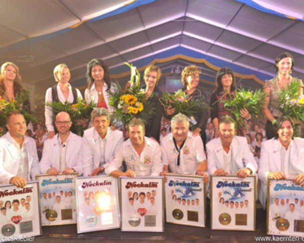Nockalm Quintett, 9 000 Fans sagten JA zum Nockalmfest in Millstatt !