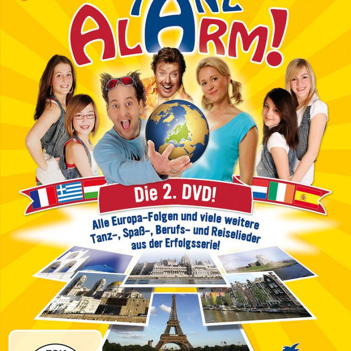 KI.KA Tanzalarm! Die 2.DVD! (Europatour u.v.m.): Lehel, Tom / Rosin, Volker / TanzalarmKids
