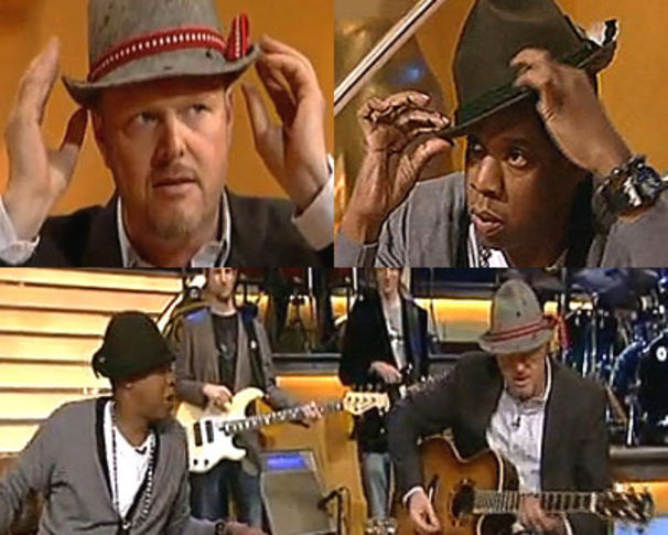 Jay-Z, Jay-Z übernahm TV Total: Seht das Video!