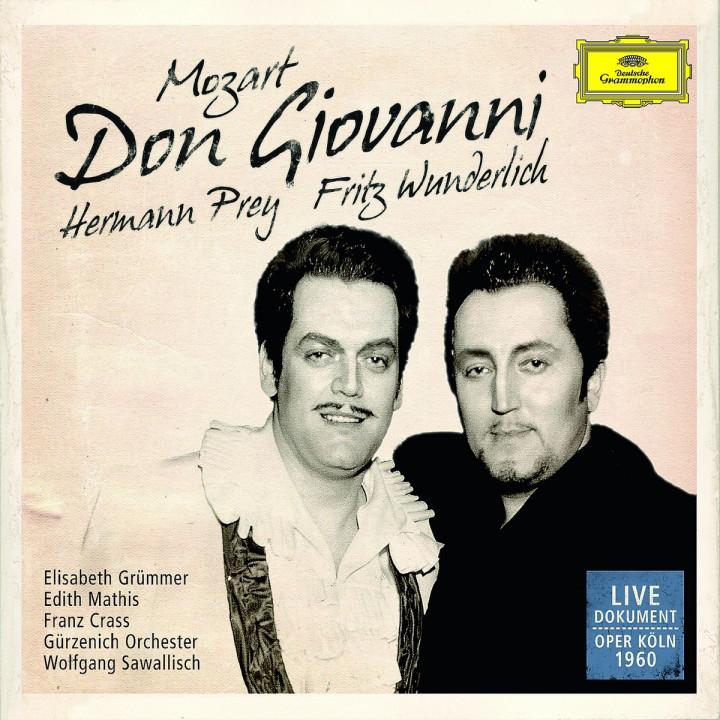Don Giovanni (GA in Deutscher Sprache): Prey/Wunderlich/Grümmer/Mathis/Sawallisch/+