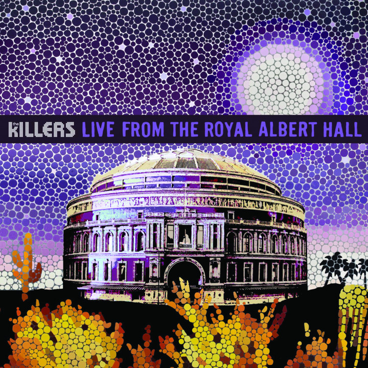 The Killers Live From The Royal Albert Hall CD Cover 2009