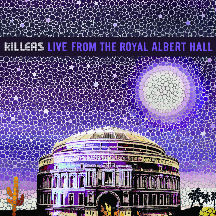 The Killers Live From The Royal Albert Hall DVD Cover 2009