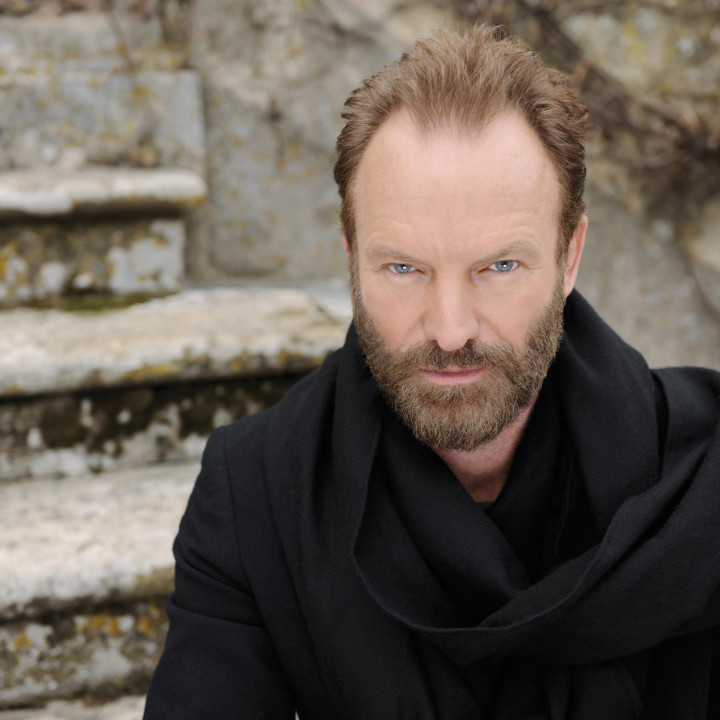 Sting, If On A Winter's Night, solo, snow, forest track © Tony Molina
